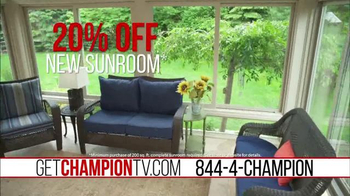 Champion Windows TV Spot, 'Best of the Outdoors' - Thumbnail 8