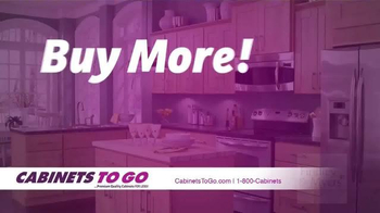 Cabinets To Go Buy More! Save More! Sale TV Spot, 'Summer Offers' - Thumbnail 1