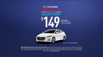 Hyundai Memorial Day Sales Event TV Spot, 'Historic Savings' [T2] - Thumbnail 8