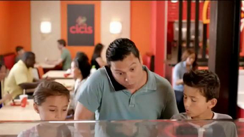 CiCi's Pizza TV Spot, 'Rellenos de orillas' [Spanish]