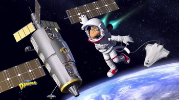 Danimals Smoothie Adventure Series TV Spot, 'Astronaut' - Thumbnail 2