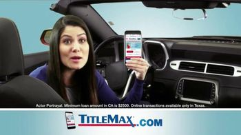 TitleMax TV Spot, 'The Amount You Need' - 201 commercial airings