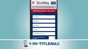 TitleMax TV Spot, 'The Amount You Need' - Thumbnail 2