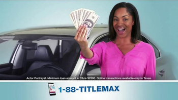 TitleMax TV Spot, 'The Amount You Need' - Thumbnail 3