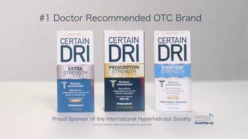 Certain Dri TV Spot, 'Help for Hyperhidrosis' - Thumbnail 3