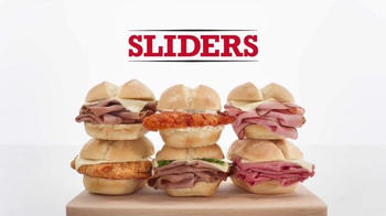 Arby's Sliders TV Spot, 'Favorite Slider' - 8 commercial airings