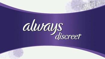 Always Discreet TV Spot, 'Absorbent Core' - Thumbnail 1