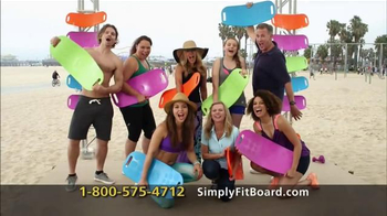 Simply Fit Board TV Spot, 'Fun Workout' Featuring Lori Greiner - 5856 commercial airings