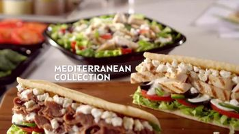 Subway Mediterranean Collection TV Spot, 'Your Choice' - 110 commercial airings