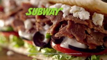 Subway Mediterranean Collection TV Spot, 'Your Choice' - Thumbnail 6