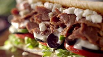 Subway Mediterranean Collection TV Spot, 'Your Choice' - Thumbnail 5