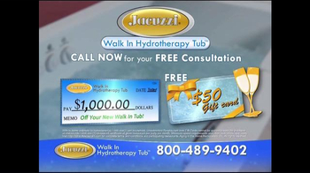 Jacuzzi Walk-In Hydrotherapy Tub TV Spot, 'Protect Yourself' - Thumbnail 8