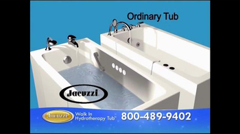 Jacuzzi Walk-In Hydrotherapy Tub TV Spot, 'Protect Yourself' - Thumbnail 6