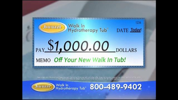 Jacuzzi Walk-In Hydrotherapy Tub TV Spot, 'Protect Yourself' - Thumbnail 7