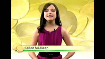 Alex's Lemonade Stand TV Spot, 'Never Too Young' Featuring Bailee Madison