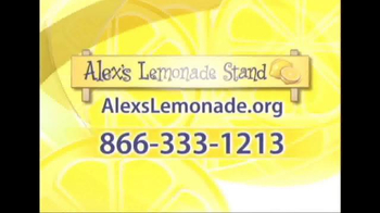 Alex's Lemonade Stand TV Spot, 'Never Too Young' Featuring Bailee Madison - Thumbnail 7