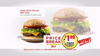 ShopRite TV Spot, 'Price Break: Ground Beef' - Thumbnail 4