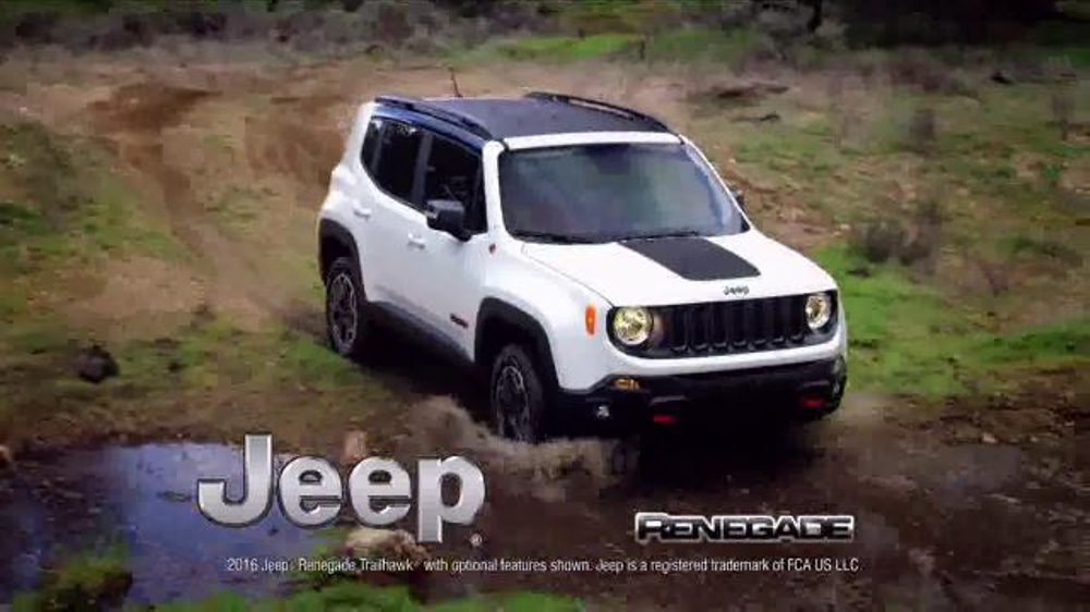 2016 Jeep Renegade TV Commercial, 'Take on the World ...