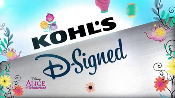 Kohl's Alice in Wonderland Collection TV Spot, 'Disney Channel: D-Signed' - Thumbnail 9