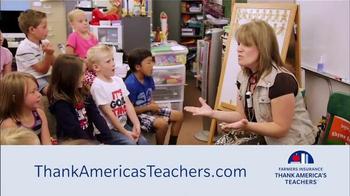 Farmers Insurance TV Spot, 'Thank America's Teachers' - Thumbnail 10