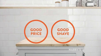 Harry's TV Spot, 'Good Good Price Shave' - 199 commercial airings