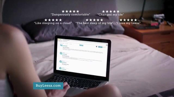 Leesa Mattress TV Spot, 'Dangerously Comfortable' - Thumbnail 8