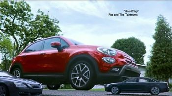 2016 FIAT 500X TV Spot, 'Room for Five' Song by Fitz and The Tantrums - 2874 commercial airings
