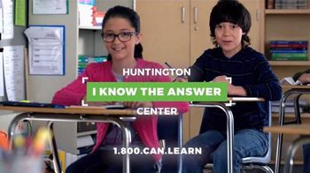 Huntington Learning Center TV Spot, '[So Glad I Went] Center: Save $100' - Thumbnail 4