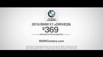 2016 BMW X1 xDrive28i TV Spot, 'Mood Swings' - Thumbnail 9