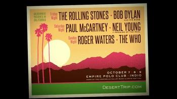 Desert Trip TV Spot, 'Three Nights of Rock and Roll' - Thumbnail 7