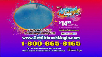 Airbrush Magic TV Spot, 'Airbrush Artist' - Thumbnail 9