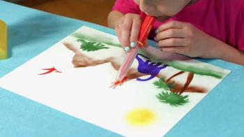 Airbrush Magic TV Spot, 'Airbrush Artist' - Thumbnail 4
