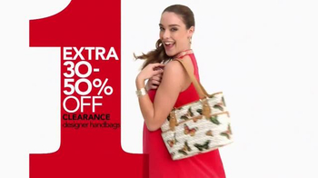 Macy's One Day Sale TV Spot, 'May 2016: Jewelry, Apparel and Baggage' - Thumbnail 6