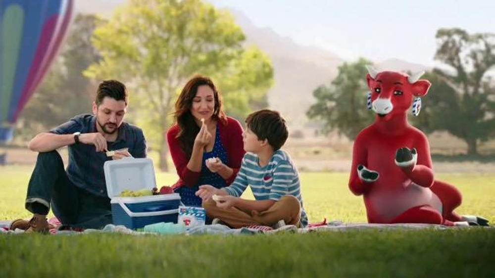 The Laughing Cow Cheese Dippers TV Commercial, 'Hot Air Balloon'