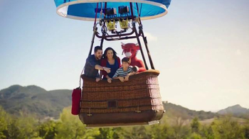 The Laughing Cow Cheese Dippers TV Spot, 'Hot Air Balloon' - Thumbnail 2