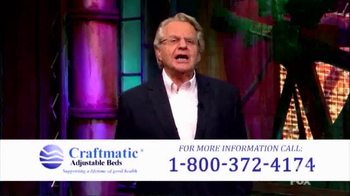 Craftmatic TV Spot, 'Perfect Solution' Featuring Jerry Springer - Thumbnail 2