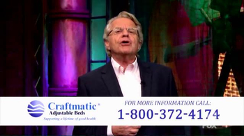 Craftmatic TV Spot, 'Perfect Solution' Featuring Jerry Springer - Thumbnail 5