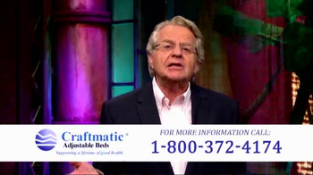 Craftmatic TV Spot, 'Perfect Solution' Featuring Jerry Springer - Thumbnail 8