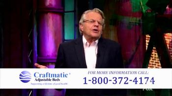 Craftmatic TV Spot, 'Perfect Solution' Featuring Jerry Springer