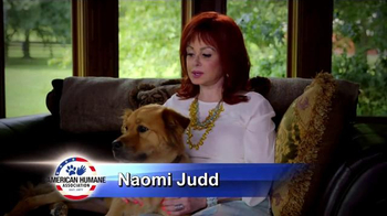 American Humane Association TV Spot, 'Red Star Rescue' Featuring Naomi Judd - Thumbnail 2