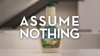 Kraft Ranch TV Spot, 'Assume Nothing: Amber' - Thumbnail 6