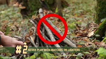 Smoker Bear TV Spot, 'Open Season: Fire Safety Rules' - Thumbnail 4