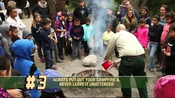 Smoker Bear TV Spot, 'Open Season: Fire Safety Rules' - Thumbnail 5