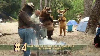 Smoker Bear TV Spot, 'Open Season: Fire Safety Rules' - Thumbnail 6
