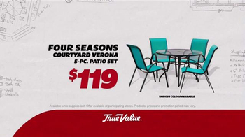 True Value Hardware TV Spot, 'Patio Set, Charcoal Grill and Tool Set' - Thumbnail 2