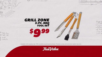 True Value Hardware TV Spot, 'Patio Set, Charcoal Grill and Tool Set' - Thumbnail 4