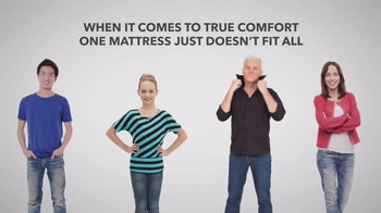 Sleepy's One Day Mattress Sale TV Spot, 'One Size Fits All'