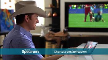 Charter Spectrum TV TV Spot, 'Sombrero y aplicación' con El Dasa [Spanish] - Thumbnail 2