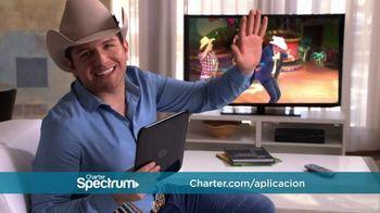 Charter Spectrum TV TV Spot, 'Sombrero y aplicación' con El Dasa [Spanish]