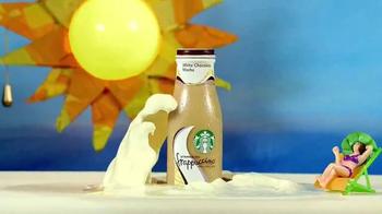 Starbucks White Chocolate Mocha Frappuccino TV Spot, 'Beat the Heat' - Thumbnail 1